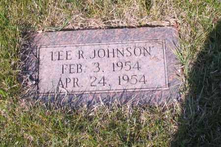 JOHNSON, LEE R. - Cass County, North Dakota | LEE R. JOHNSON - North Dakota Gravestone Photos