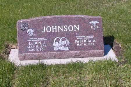 JOHNSON, LADON J. - Cass County, North Dakota | LADON J. JOHNSON - North Dakota Gravestone Photos