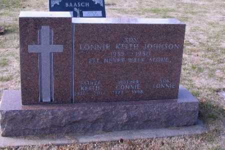 JOHNSON, LONNIE KEITH - Cass County, North Dakota | LONNIE KEITH JOHNSON - North Dakota Gravestone Photos