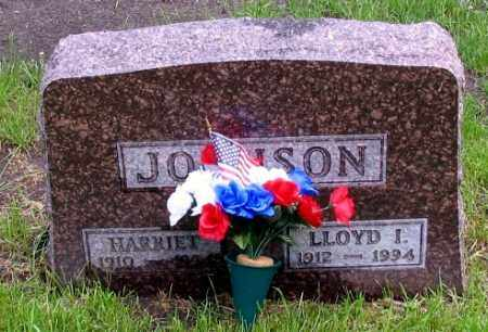 JOHNSON, HARRIET - Cass County, North Dakota | HARRIET JOHNSON - North Dakota Gravestone Photos