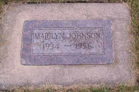 JOHNSON, MARILYN - Cass County, North Dakota | MARILYN JOHNSON - North Dakota Gravestone Photos