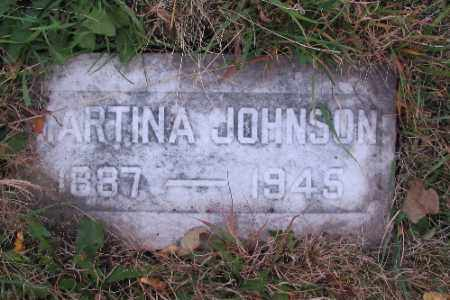 JOHNSON, MARTINA - Cass County, North Dakota | MARTINA JOHNSON - North Dakota Gravestone Photos