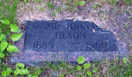 JOHNSON, MARIE - Cass County, North Dakota | MARIE JOHNSON - North Dakota Gravestone Photos