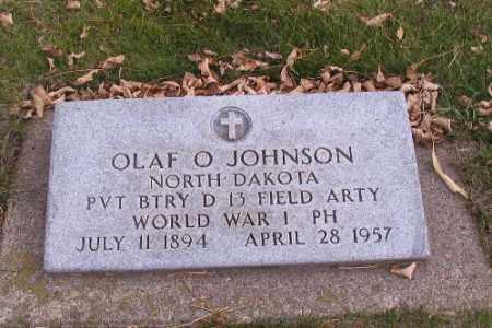 JOHNSON, OLAF O. - Cass County, North Dakota | OLAF O. JOHNSON - North Dakota Gravestone Photos