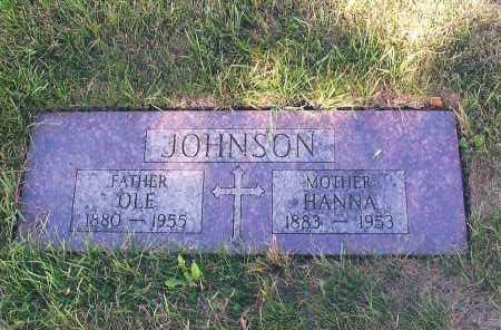 JOHNSON, OLE - Cass County, North Dakota | OLE JOHNSON - North Dakota Gravestone Photos
