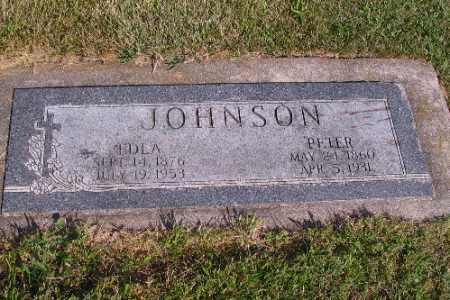 JOHNSON, EDLA - Cass County, North Dakota | EDLA JOHNSON - North Dakota Gravestone Photos