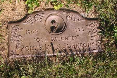 JOHNSON, POLLIE LYNN - Cass County, North Dakota | POLLIE LYNN JOHNSON - North Dakota Gravestone Photos