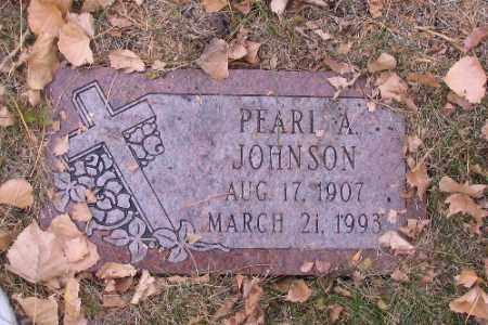 JOHNSON, PEARL A. - Cass County, North Dakota | PEARL A. JOHNSON - North Dakota Gravestone Photos