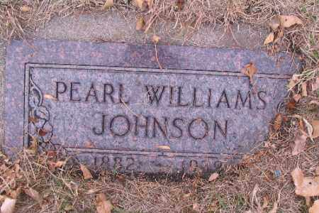 JOHNSON, PEARL - Cass County, North Dakota | PEARL JOHNSON - North Dakota Gravestone Photos