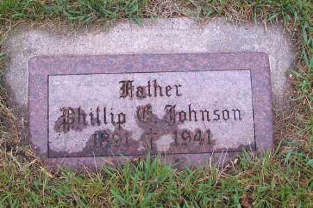 JOHNSON, PHILLIP - Cass County, North Dakota | PHILLIP JOHNSON - North Dakota Gravestone Photos