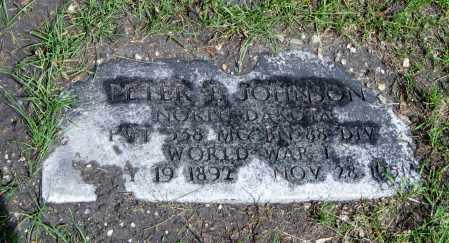 JOHNSON, PETER E. - Cass County, North Dakota | PETER E. JOHNSON - North Dakota Gravestone Photos