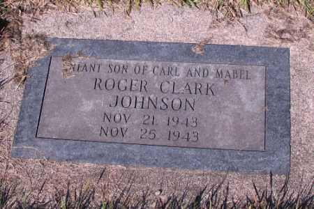 JOHNSON, ROGER CLARK - Cass County, North Dakota | ROGER CLARK JOHNSON - North Dakota Gravestone Photos