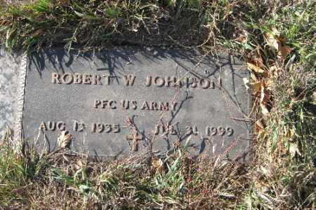 JOHNSON, ROBERT W. - Cass County, North Dakota | ROBERT W. JOHNSON - North Dakota Gravestone Photos