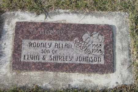 JOHNSON, RODNEY ALLAN - Cass County, North Dakota | RODNEY ALLAN JOHNSON - North Dakota Gravestone Photos