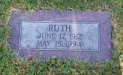 JOHNSON, RUTH - Cass County, North Dakota   RUTH JOHNSON - North Dakota Gravestone Photos