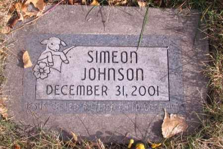 JOHNSON, SIMEON - Cass County, North Dakota | SIMEON JOHNSON - North Dakota Gravestone Photos