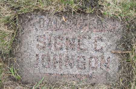 JOHNSON, SIGNE C. - Cass County, North Dakota | SIGNE C. JOHNSON - North Dakota Gravestone Photos