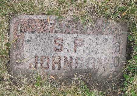 JOHNSON, S. P. - Cass County, North Dakota | S. P. JOHNSON - North Dakota Gravestone Photos