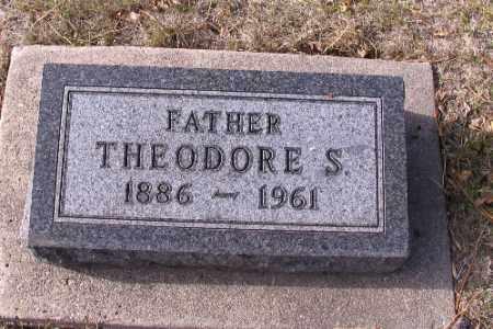 JOHNSON, THEODORE S. - Cass County, North Dakota   THEODORE S. JOHNSON - North Dakota Gravestone Photos
