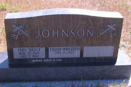 "JOHNSON, VERN ""BRUCE"" - Cass County, North Dakota | VERN ""BRUCE"" JOHNSON - North Dakota Gravestone Photos"