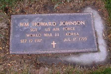 JOHNSON, WM. HOWARD - Cass County, North Dakota | WM. HOWARD JOHNSON - North Dakota Gravestone Photos