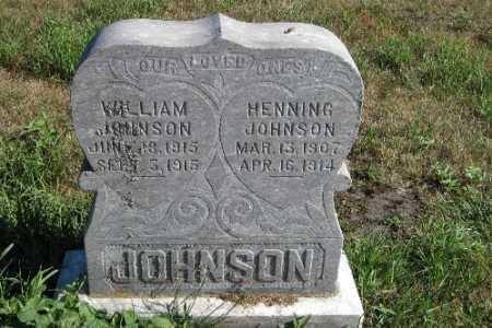 JOHNSON, WILLIAM - Cass County, North Dakota | WILLIAM JOHNSON - North Dakota Gravestone Photos
