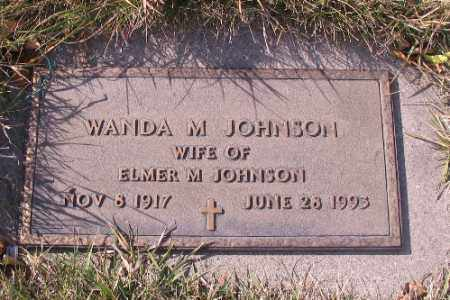JOHNSON, WANDA M. - Cass County, North Dakota | WANDA M. JOHNSON - North Dakota Gravestone Photos