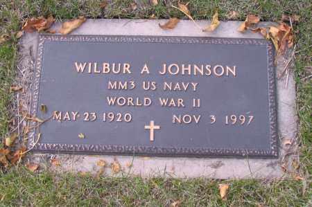 JOHNSON, WILBUR A. - Cass County, North Dakota | WILBUR A. JOHNSON - North Dakota Gravestone Photos