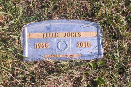 JONES, ALLEN - Cass County, North Dakota   ALLEN JONES - North Dakota Gravestone Photos