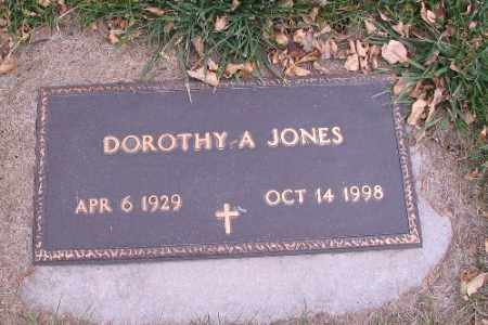 JONES, DOROTHY A. - Cass County, North Dakota | DOROTHY A. JONES - North Dakota Gravestone Photos