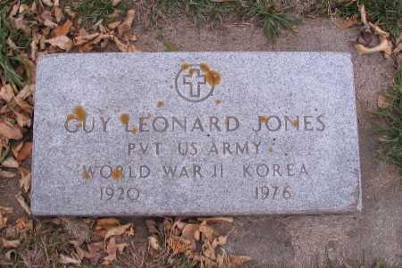 JONES, GUY LEONARD - Cass County, North Dakota | GUY LEONARD JONES - North Dakota Gravestone Photos