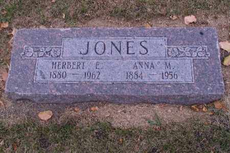 JONES, ANNA M. - Cass County, North Dakota | ANNA M. JONES - North Dakota Gravestone Photos