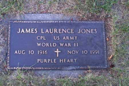 JONES, JAMES LAURENCE - Cass County, North Dakota | JAMES LAURENCE JONES - North Dakota Gravestone Photos
