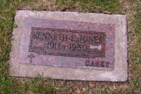 JONES, KENNETH E. - Cass County, North Dakota | KENNETH E. JONES - North Dakota Gravestone Photos