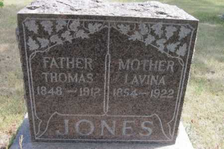 JONES, THOMAS - Cass County, North Dakota   THOMAS JONES - North Dakota Gravestone Photos