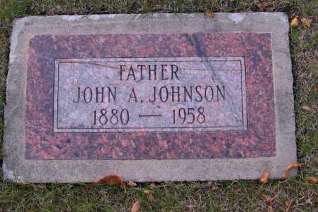 JOHNSON, JOHN A. - Cass County, North Dakota | JOHN A. JOHNSON - North Dakota Gravestone Photos