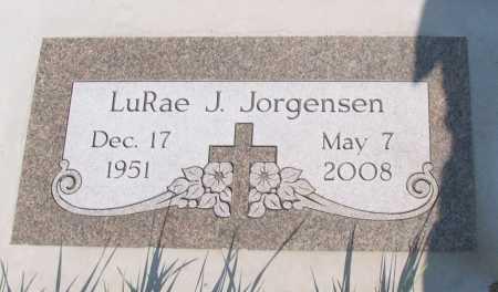 JORGENSEN, LURAE J. - Cass County, North Dakota | LURAE J. JORGENSEN - North Dakota Gravestone Photos