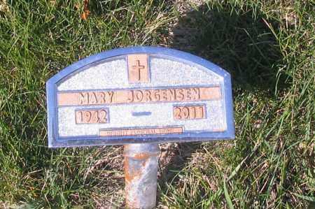 JORGENSEN, MARY - Cass County, North Dakota | MARY JORGENSEN - North Dakota Gravestone Photos