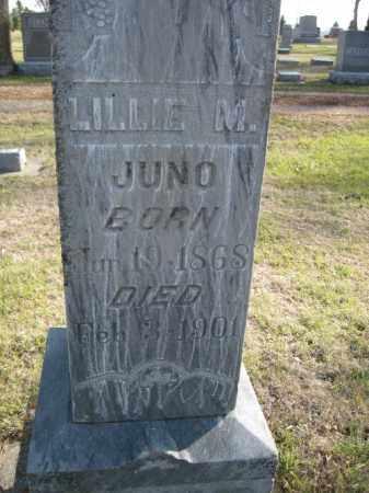 JUNO, LILLIE M. - Cass County, North Dakota | LILLIE M. JUNO - North Dakota Gravestone Photos