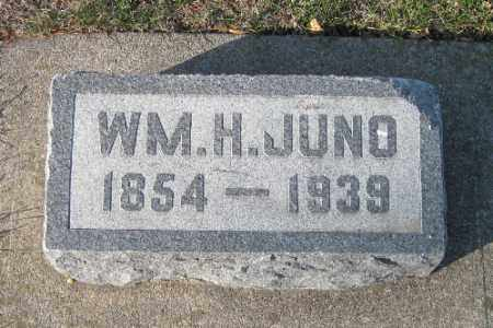 JUNO, WM H. - Cass County, North Dakota | WM H. JUNO - North Dakota Gravestone Photos