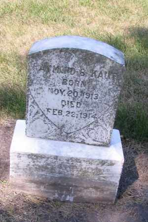 KAUT, ALMOND B. - Cass County, North Dakota | ALMOND B. KAUT - North Dakota Gravestone Photos