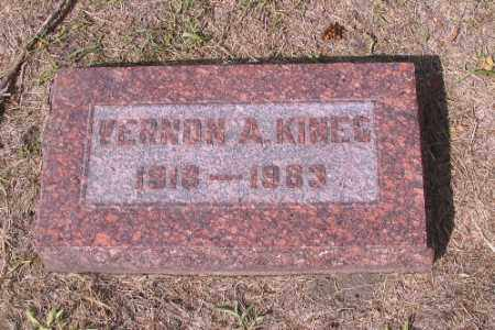 KINEG, VERNON A. - Cass County, North Dakota | VERNON A. KINEG - North Dakota Gravestone Photos