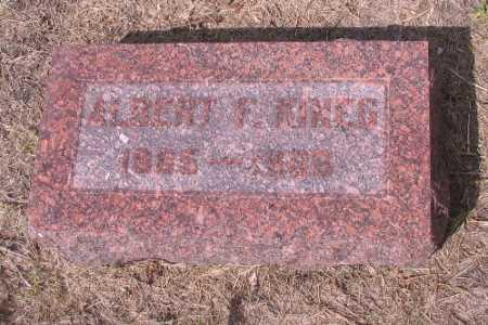 KINEG, ALBERT F. - Cass County, North Dakota | ALBERT F. KINEG - North Dakota Gravestone Photos