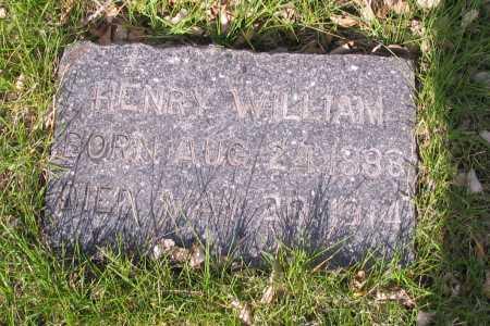 KRAUSE, HENRY WILLIAM - Cass County, North Dakota | HENRY WILLIAM KRAUSE - North Dakota Gravestone Photos