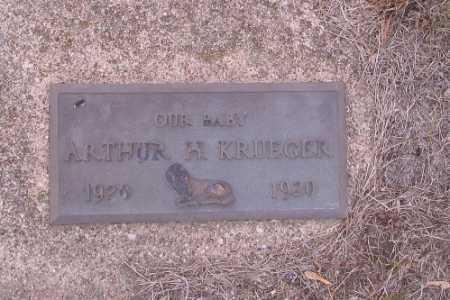 KRUEGER, ARTHUR H. - Cass County, North Dakota | ARTHUR H. KRUEGER - North Dakota Gravestone Photos