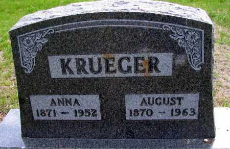 KRUEGER, AUGUST - Cass County, North Dakota | AUGUST KRUEGER - North Dakota Gravestone Photos