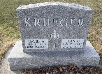 KRUEGER, DAVID AUGUST - Cass County, North Dakota | DAVID AUGUST KRUEGER - North Dakota Gravestone Photos