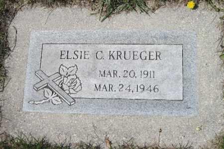 KRUEGER, ELSIE C. - Cass County, North Dakota | ELSIE C. KRUEGER - North Dakota Gravestone Photos