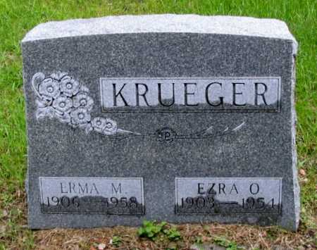KRUEGER, EZRA O. - Cass County, North Dakota | EZRA O. KRUEGER - North Dakota Gravestone Photos
