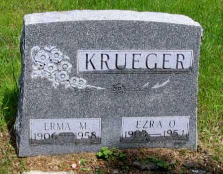 KRUEGER, ERMA M, - Cass County, North Dakota | ERMA M, KRUEGER - North Dakota Gravestone Photos
